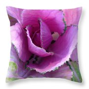 Summer's Cabbage Patch Throw Pillow