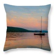 Summers Calm End Throw Pillow