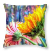 Summer's End Xii Throw Pillow