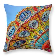 Summertime Classic Throw Pillow by Heidi Smith