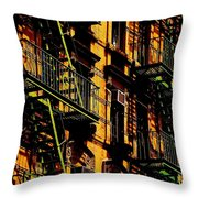 Summertime Sizzle Throw Pillow
