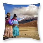 Summit Conference Throw Pillow