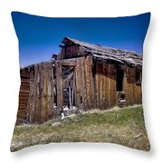 Summitville - Colorado Ghost Town Throw Pillow
