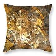 Sun 0396 - Marucii Throw Pillow