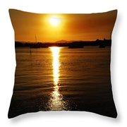 Sun 5 Throw Pillow