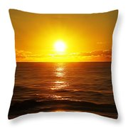 Sun 8 Throw Pillow