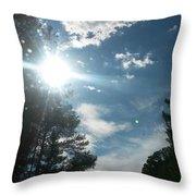 Sun And Country Throw Pillow