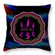 Sun And Flames Throw Pillow