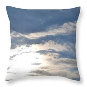 Sun And Sky Throw Pillow