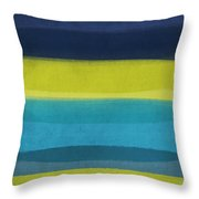 Sun And Surf Throw Pillow