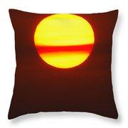 Sun Belt Throw Pillow