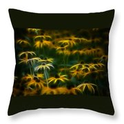 Sun Dancers Throw Pillow