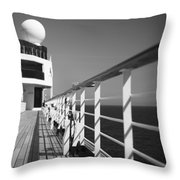 Sun Deck Shadows Throw Pillow