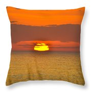 Sun Delight  Throw Pillow
