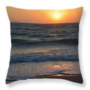 Sun Glistening On The Water Throw Pillow