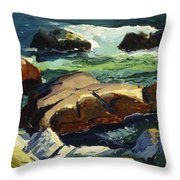 Sun Glow Throw Pillow