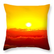 Sun Goddess  Throw Pillow