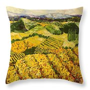 Sun Harvest Throw Pillow