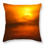 Sun Mood Throw Pillow
