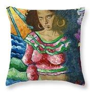 Gitana Throw Pillow