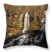 Sun On The Falls Throw Pillow