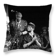 Sun Ra Arkestra With John Gilmore Throw Pillow