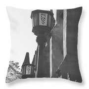 Sun Rays And Subways Throw Pillow