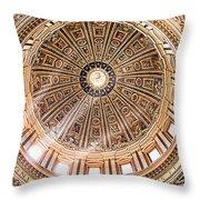 Sun Rays Through The Dome Throw Pillow