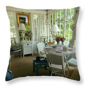 Sun Room Throw Pillow
