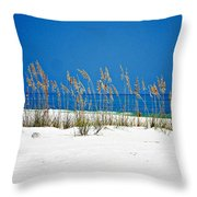 Sun Sand Surf Throw Pillow