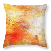 William Turner Sun Setting over a Lake Tote Shopping Bag For Life