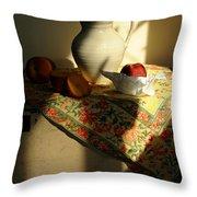 Sun Shade Throw Pillow by Diana Angstadt