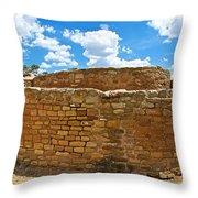 Sun Temple-1250 Ad In Mesa Verde National Park-colorado Throw Pillow