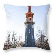 Sun Topped Dwight Windmill Throw Pillow