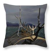 Sun Voyager Reykjavik Throw Pillow