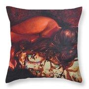 Sunbeams3 Throw Pillow