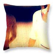Sunburn Throw Pillow