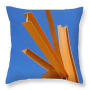Sunburst 1 Throw Pillow
