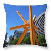 Sunburst Full Throw Pillow