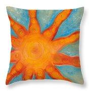 Sunburst Throw Pillow