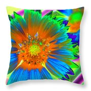 Sunburst - Photopower 2241 Throw Pillow