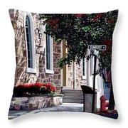 Sunbury Street Throw Pillow
