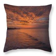 Sunday Daybreak Throw Pillow
