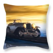 Sunday Drive Throw Pillow