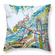 Sunday/monday/wednesday/ask Them About Throw Pillow