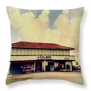 Sunday Morning At The 6-eleven Throw Pillow
