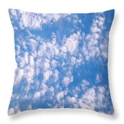 Sunday Morning Outdoor Services Throw Pillow