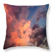 Sunday Sunset Throw Pillow