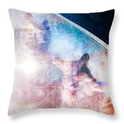 Sundogs Throw Pillow