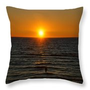 Sundown Admiration Throw Pillow